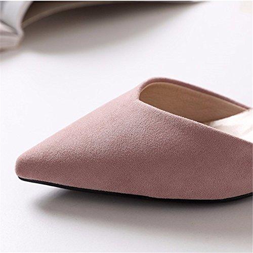 l'estate spillo lavoro EU 38 elegante moda B da da scarpe sexy da scarpe in e a con temperamento scarpe festa un donna unico Primavera YMFIE aria 8SqxfHE8