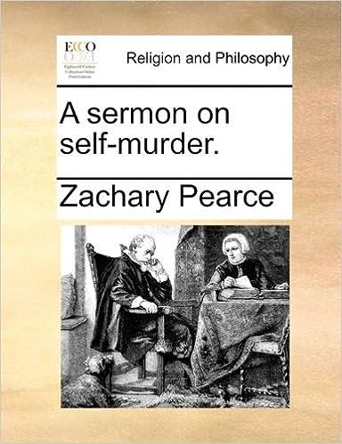 Book A sermon on self-murder.