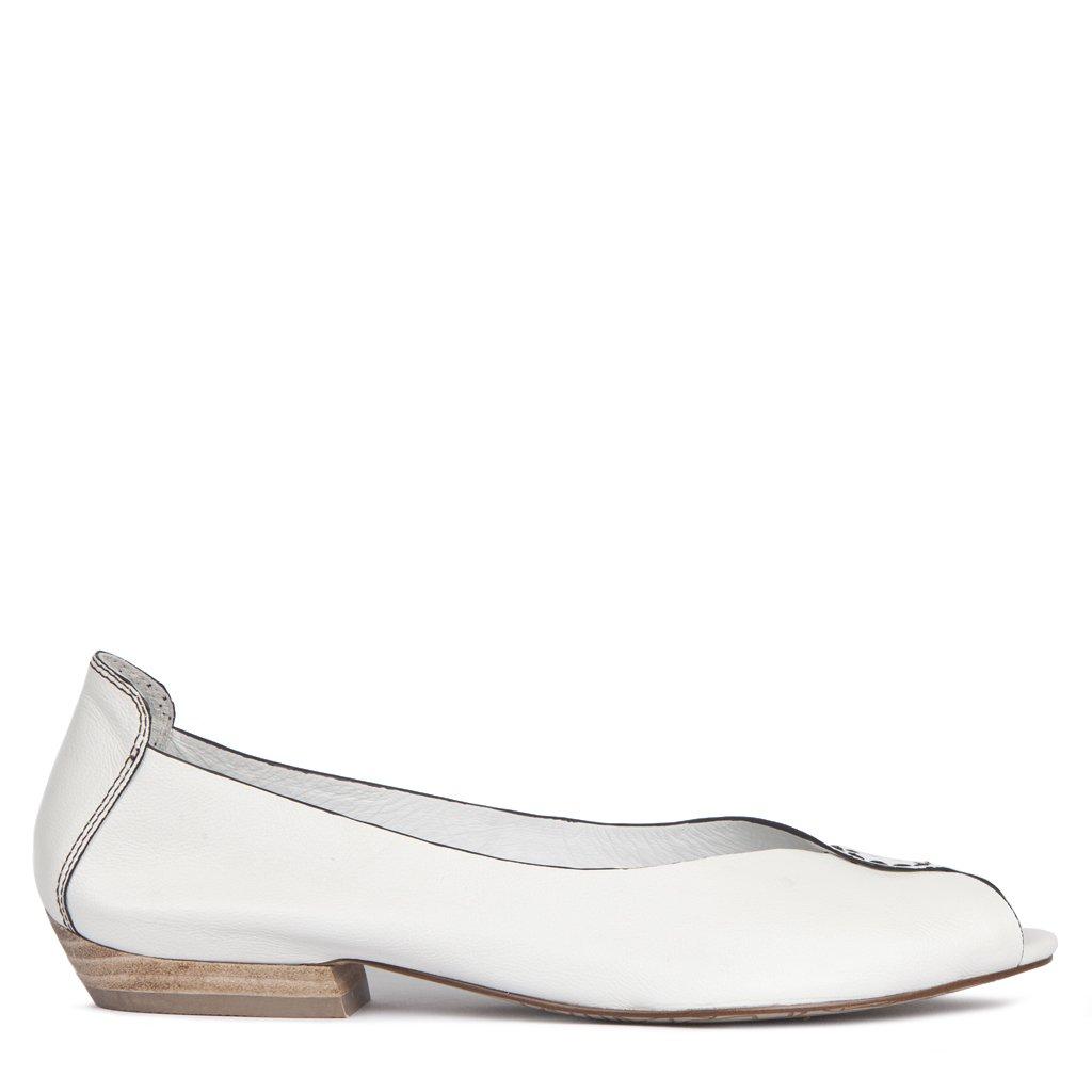 TJ Collection GP 5101013 WHB Damen Ballerinas Weiß Weiß Weiß - Weiß - Größe  39