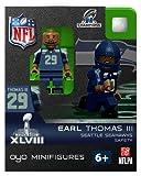 NFL Seattle Seahawks Earl Thomas Toy Figure