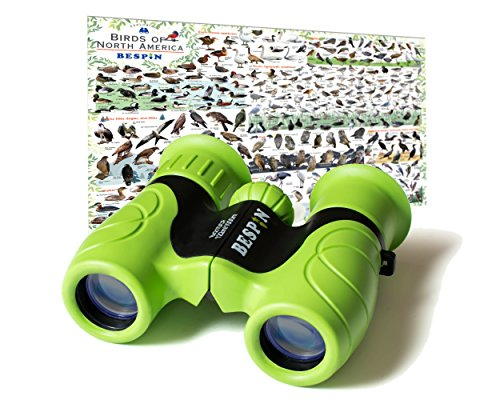 High-Resolution Kids Binoculars Set 8x21 - Bird Watching - E