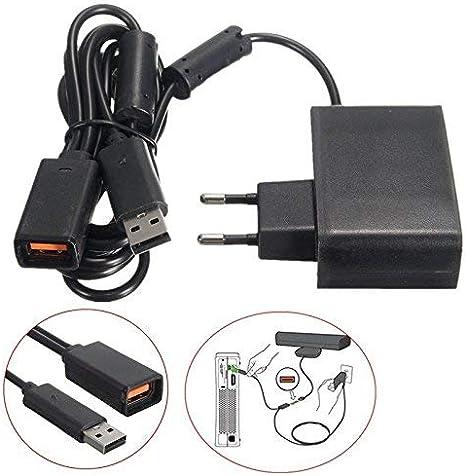 Gamelink Adaptador de corriente de repuesto de cargador de fuente de alimentación Adaptador de CA de cable de alimentación para sensor de Kinect XBOX360: Amazon.es: Videojuegos