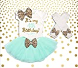 4th Birthday Outfit Girl Pink and Gold 4th Birthday Tutu Set Birthday Girl Outfit 4th Birthday Outfit Birthday Tutu Set