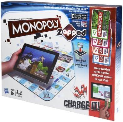 Hasbro Monopoly Zapped [Importado de Inglaterra]: Monopoly Zapped: Amazon.es: Juguetes y juegos