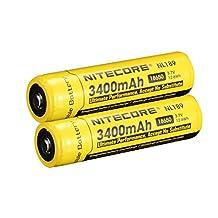Nitecore NL189 18650 Rechargeable Battery - 3400mAh