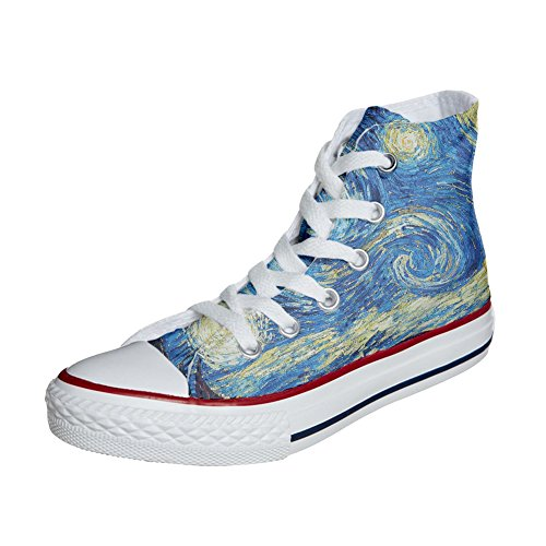 Van Gogh 2 Unisex producto Zapatos All Customized Artesano Converse Star Personalizados zvq8OWw