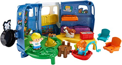 511CtBnfZ8L - Fisher-Price Little People Songs & Sounds Camper