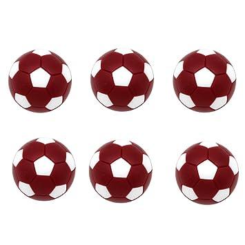 MagiDeal Paquete De 6 Balones Deportivos De Fútbol De Mesa De ...