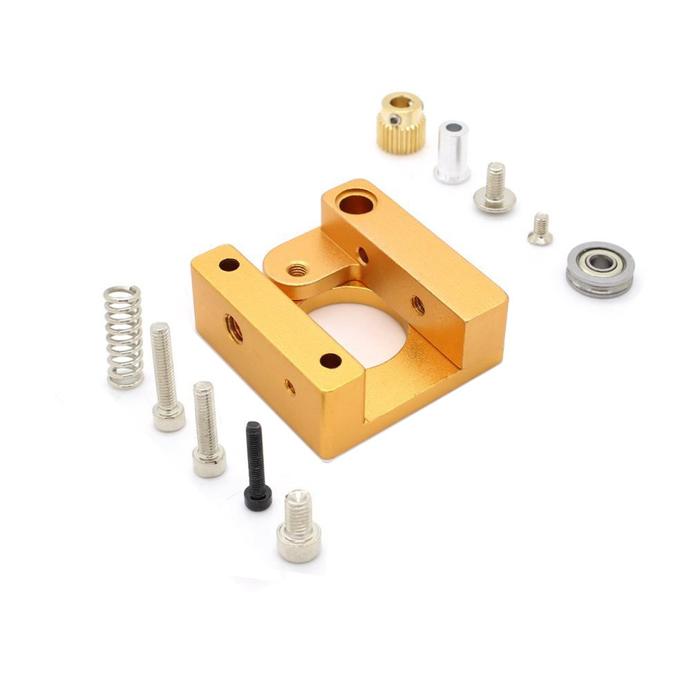 Redrex Aluminum Frame Right Hand MK8 Extruder for Reprap Prusa i3 3D Printer