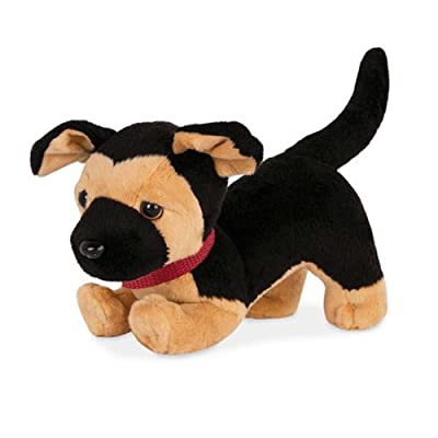 Our Generation German Shepherd Pup (poseable): Toys & Games [5Bkhe0300743]