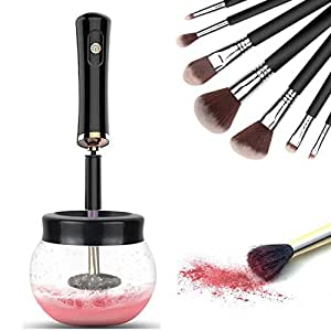 DeepDream Makeup Brush Cleaner Kit Professional Electric Automatic Cleaner and Dryer Machine Cleaning for All Size Makeup Brushes in Seconds - Black