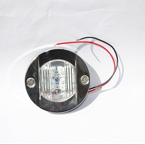 T-H Marine LED-51828-DP Stainless LED Puck Light 3 Blue
