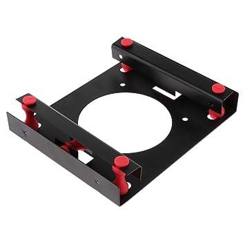 perfk Soporte SSD 3.5 A 5.25 Adaptador De Disco Duro Bahía De ...