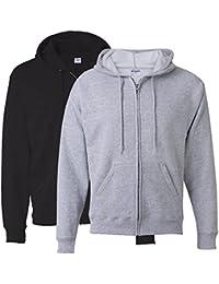 Hanes Men's Full-Zip EcoSmart Fleece Hoodie (X-Large, 1...