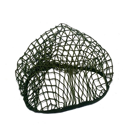 ANQIAO WW2 US M1 Helmet Cover Net Webbing Field Green Tactical Gear WWII