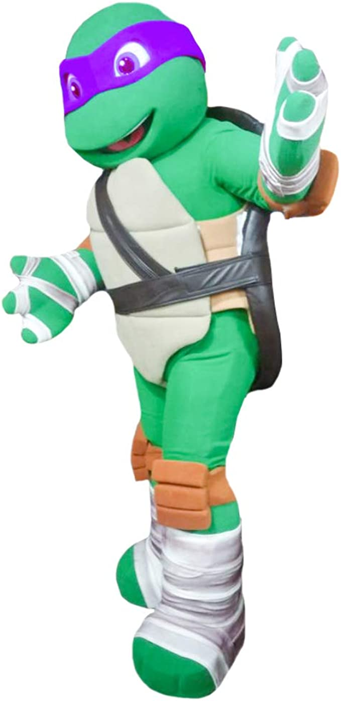 Quality Mascots Costumes Disfraz de Donatello de Tortuga Ninja ...