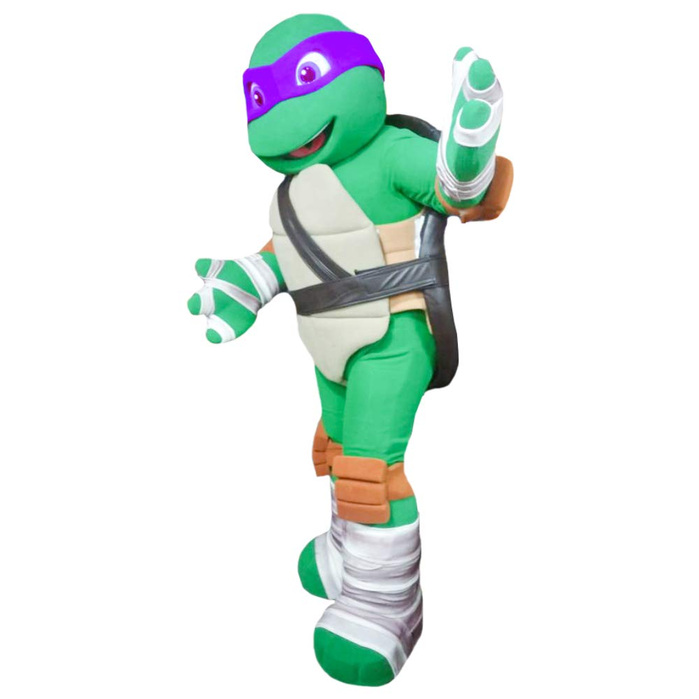 Amazon.com: Purple Ninja Turtle Donatello Mascot Costume ...