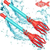 Sumille Octopus Water Blaster, 2 Pack,Water Gun for Summer Swimming Pool,Kids Adults Water Park, Outdoor Activity Water Combat Squirt Shooters,Kids Toy Party Pool Beach Seaside Beach (21in, 5.28oz )