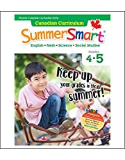 Canadian Curriculum SummerSmart 4-5: Refresh skills learned in Grade 4 and prepare for Grade 5