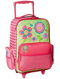 Stephen Joseph Girls' Rolling Luggage Flower
