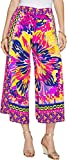 Lilly Pulitzer Women's Lisbeth Crop Multi Summer Sunset Engineered Pants
