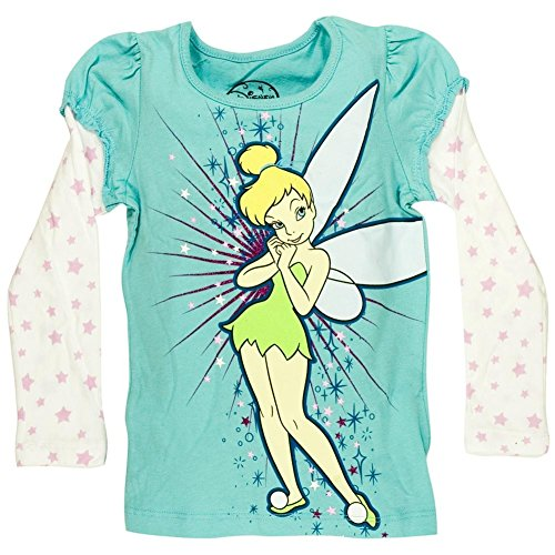 Tinkerbell - Girls Pixie Tink Girls Juvy 2fer X-large Light Blue