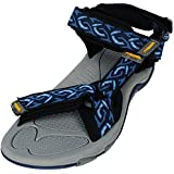 Angel Cola Men's Adjustable Strap Soft Footbed Sport Sandal