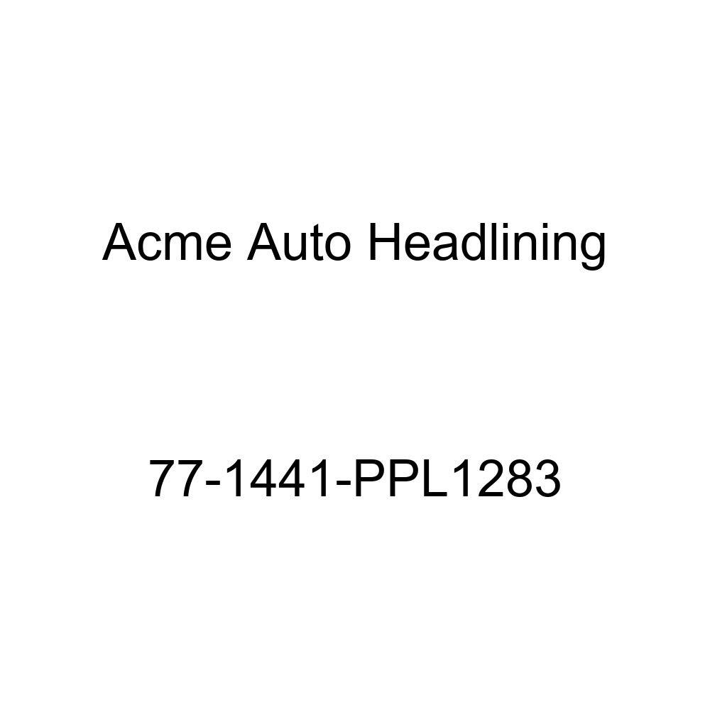 1977 Chevrolet Malibu 2 Door Coupe 5 Bow Acme Auto Headlining 77-1441-PPL1283 Dark Green Replacement Headliner