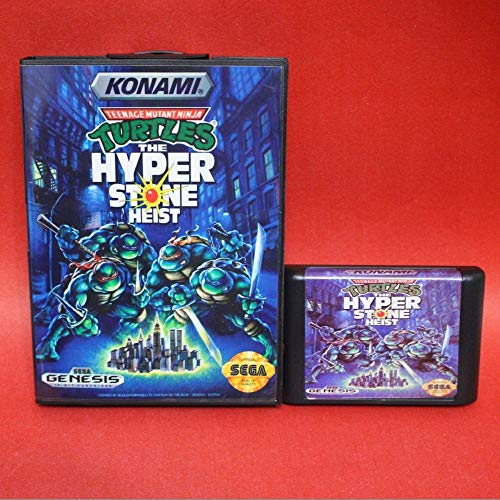 Amazon.com: Turtles The Hyperstone Heist 16 Bit Md Card With ...