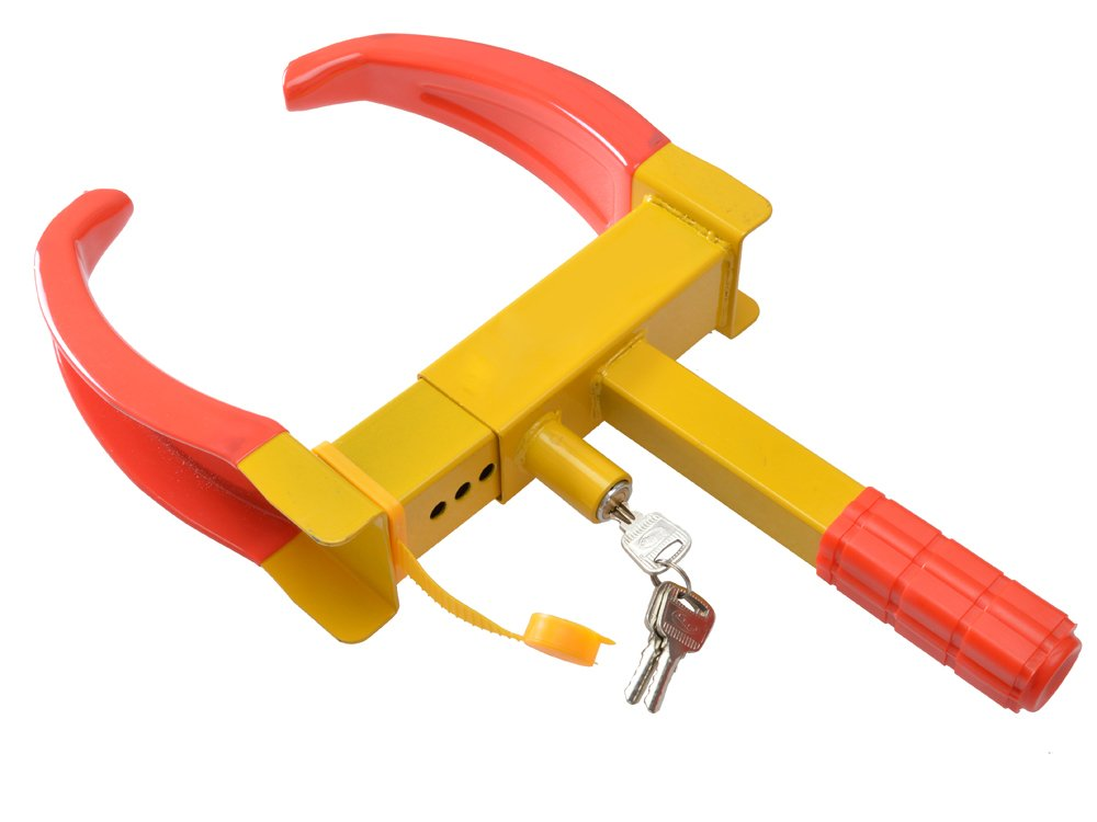 TMS Wheel Lock Clamp Boot Tire Claw Auto Car Truck Rv Boat Trailer Anti-theft Towing