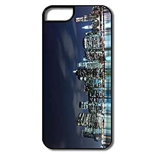 Skyscrapers Night IPhone 5 /5s Case, Custom Geek Design For IPhone 5
