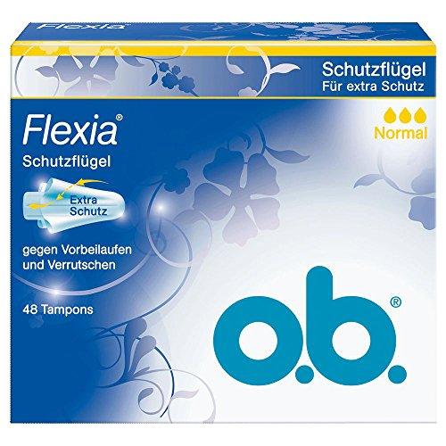 o.b. Tampon Flexia Normal 48er, 1er Pack (1 x 48 Stück)