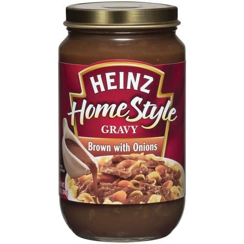 Homestyle Beef Gravy With Onion, 12 Ounce -- 12 Case - Heinz Beef