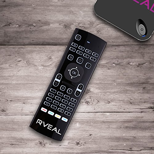 Price comparison product image Rveal Backlit Air Mouse Remote & Keyboard …