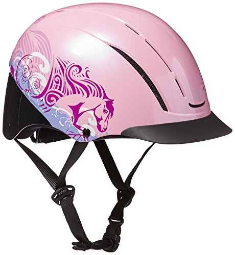 - Troxel Spirit Performance Helmet, Pink Dreamscape, X-Small