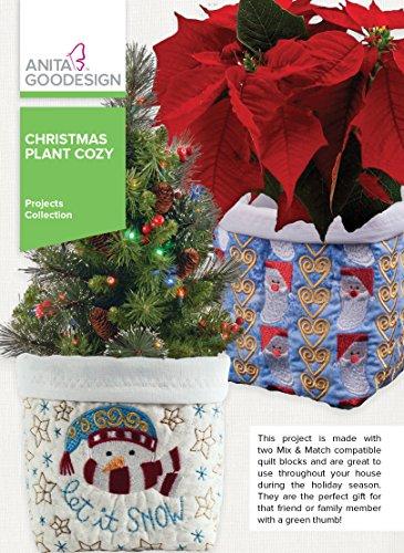 Anita Goodesign Embroidery Designs Christmas Plant Cozy