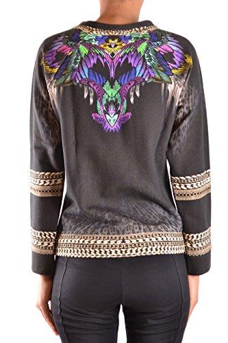 Just Cavalli Femme MCBI170027O Multicolore Coton Sweatshirt