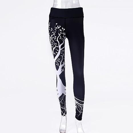 Smony Pantaloni Lunghi da Donna Stampati, per Yoga