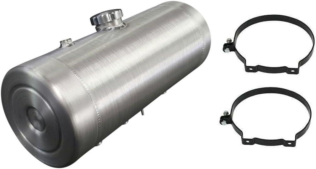 8x16 Center Fill Spun Aluminum Gas Tank w//Vent Tube 1//4 NPT Tractor pulling