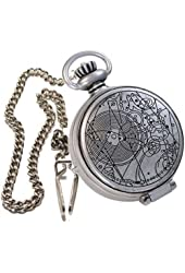 The Doctor's Fob Watch with Metal Keychain