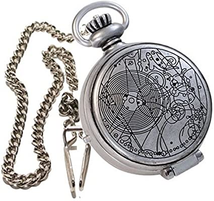 The Doctors Fob Watch With Metal Keychain