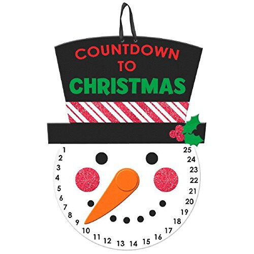 Amscan Countdown to Christmas Hanging Sign | Holiday Decoration ()