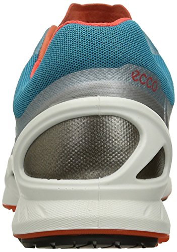 discount real for sale wholesale price ECCO Women's Biom Fjuel Racer Cross Trainer Silver Metallic/Capri Breeze/Coral Blush doq7Dm5vF2