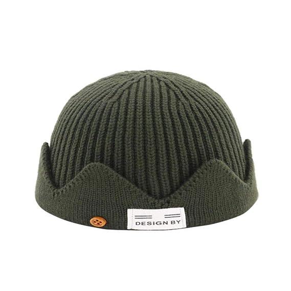XJDMG Sombrero de Punto Wool Hat Gorra Nuevo Gorro Unisex Estilo ...