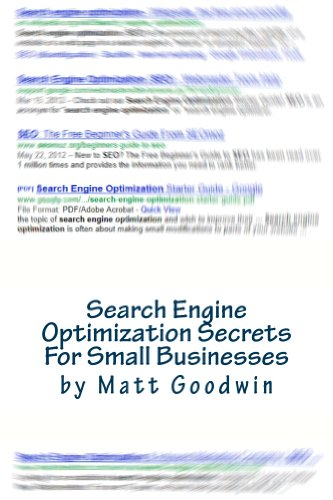 Search Engine Optimization Secrets For Small Businesses by Matt Goodwin