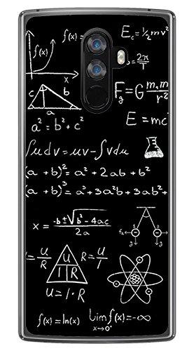 Tumundosmartphone Funda Gel TPU para DOOGEE Mix 2 diseño Formulas Dibujos