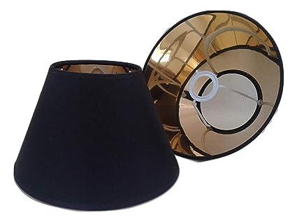 203 Cm Schwarz Kegel Lampenschirm Gold Futter Lampenschirm