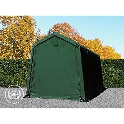 OOLPORT-24-x-36-m-Heavy-Duty-PVC-Carport-Tent-Portable-Garage-Vehicle-Shed-compact-Storage-Shelter-100-waterproof-in-dark-green