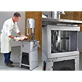 3/4 Hp Motor Professional Meat Cutting Band Saw With Built-In Grinder Meatsaw