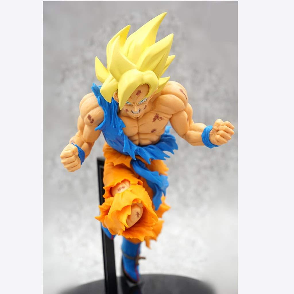 ZRL77y Modelo de Escultura Dragon Ball Wukong Super Saiyan ...